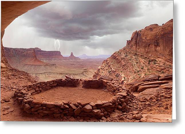 Usa, Utah, Canyonlands National Park Greeting Card by Jaynes Gallery