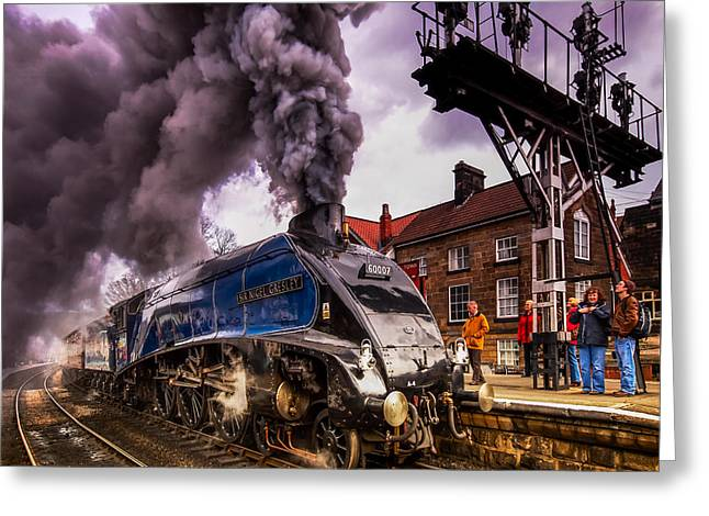 60007 Sir Nigel Gresley Greeting Card