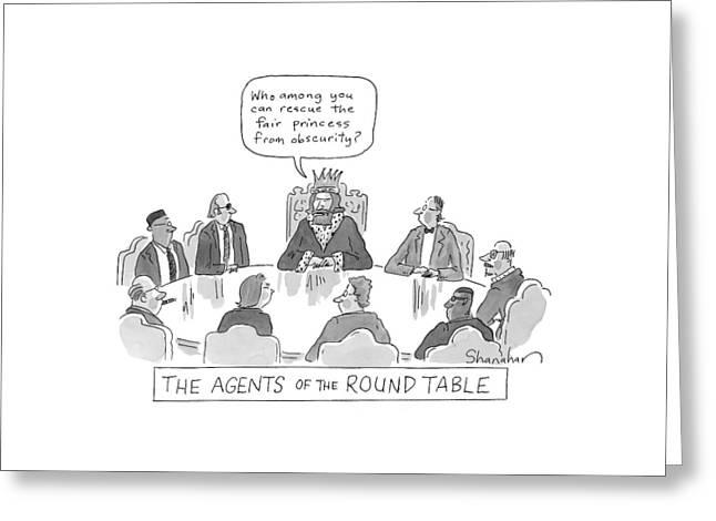 New Yorker May 4th, 2009 Greeting Card by Danny Shanahan