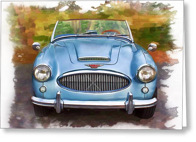 62 Austin Healy Greeting Card