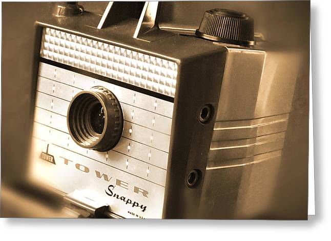 620 Camera Greeting Card by Mike McGlothlen