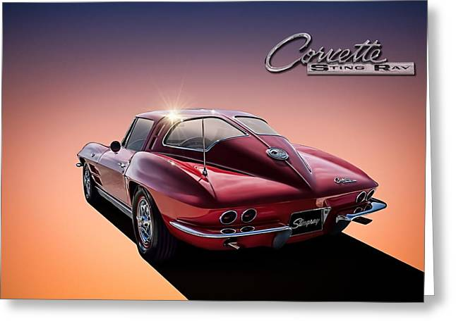 '63 Stinger Greeting Card by Douglas Pittman