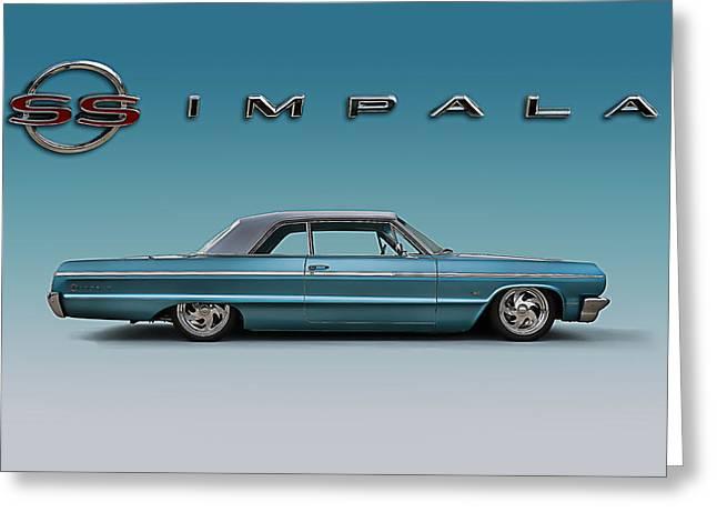 '64 Impala Ss Greeting Card