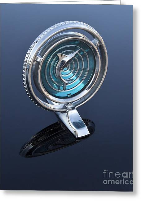 66 Marlin Hood Ornament Greeting Card