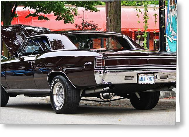 67' Chevelle Classic Greeting Card