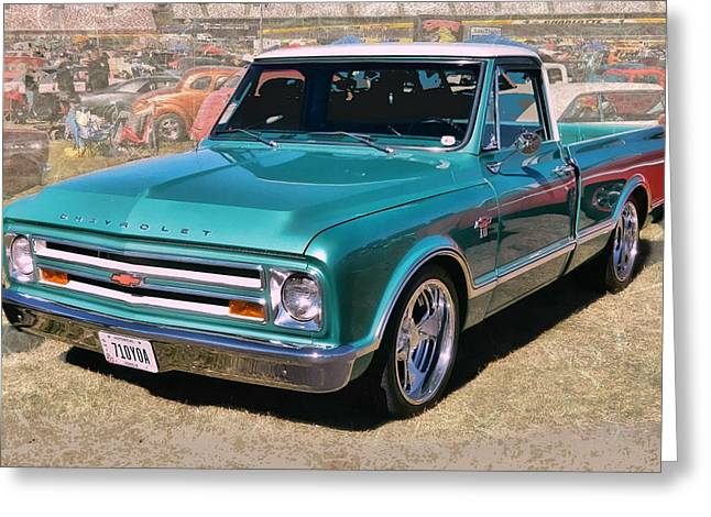 '67 Chevy Truck Greeting Card