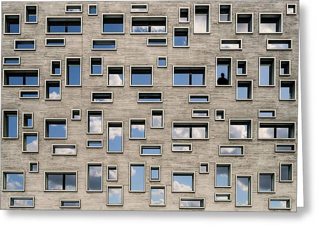 68 Windows And 1 Soul Greeting Card