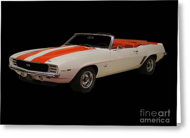 69 Chevy Camaro Ss Greeting Card