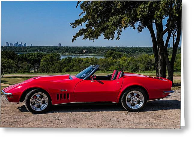 '69 Stingray Greeting Card by Douglas Pittman