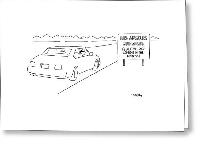 New Yorker February 21st, 2000 Greeting Card by Alex Gregory