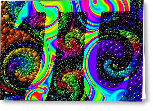 6Pi Greeting Card by Ron Hedges