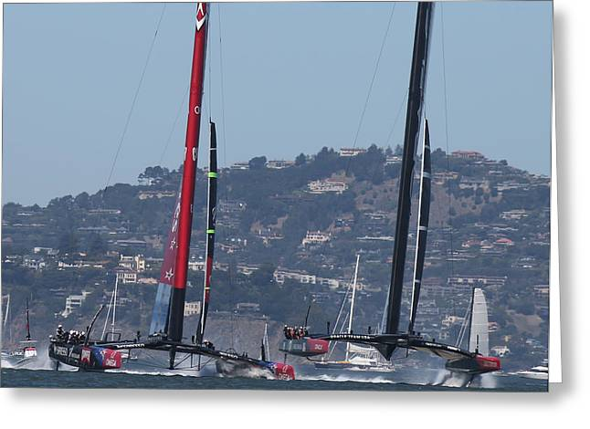 America's Cup Greeting Card