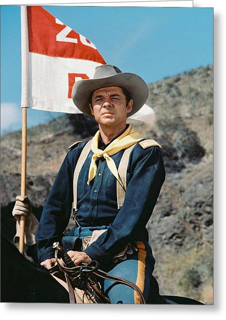 Audie Murphy Greeting Card by Silver Screen