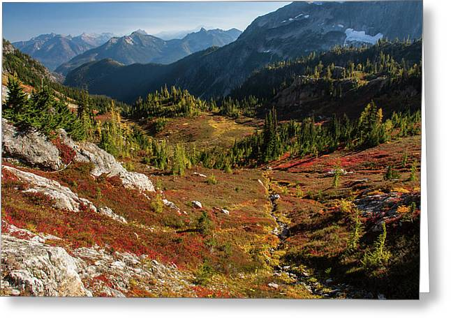 Autumn, North Cascades National Park Greeting Card by Eric Zamora