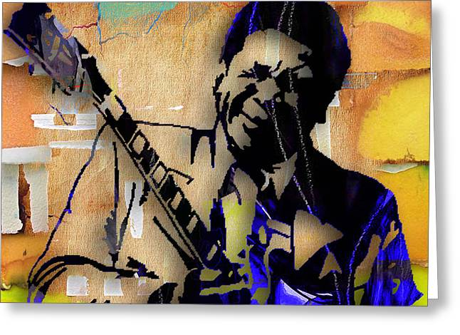Bb King Collection Greeting Card