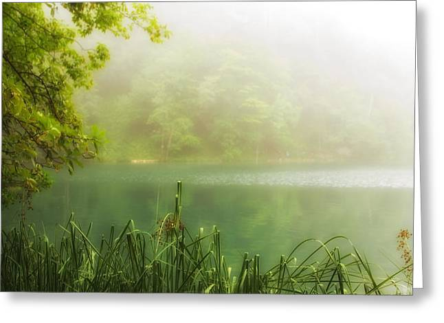 Beautiful Lake Greeting Card