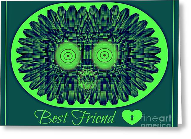 Best Friends Greeting Card by Meiers Daniel
