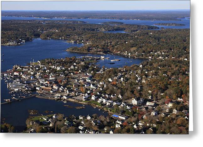 Boothbay Harbor, Maine Greeting Card