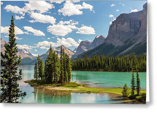 Canada, Alberta, Jasper National Park Greeting Card