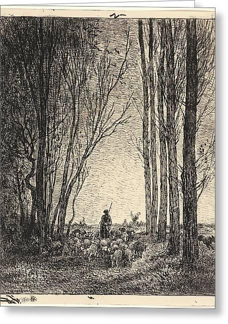 Charles François Daubigny French Greeting Card