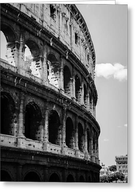 Colosseum - Rome Italy Greeting Card by Andrea Mazzocchetti