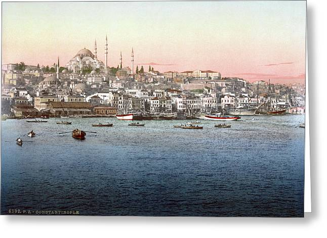 Constantinople, C1895 Greeting Card