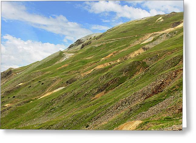 Engineer Pass In Colorado  Greeting Card