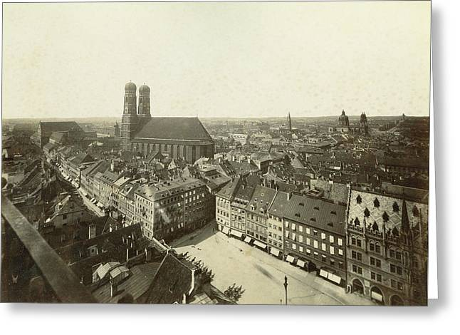 Germany Munich Greeting Card by Granger