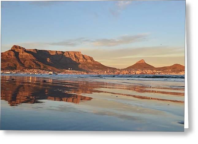 Good Morning Cape Town Greeting Card
