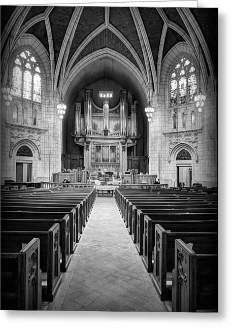 Hennepin Avenue Methodist Church Greeting Card by Amanda Stadther