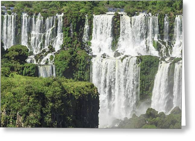 Iguazu Falls Greeting Card by Alfred Pasieka