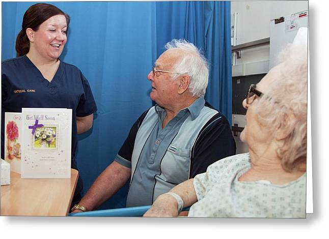 Intensive Care Unit Greeting Card