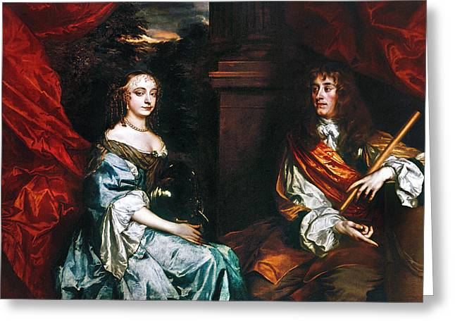 James II (1633-1701) Greeting Card by Granger