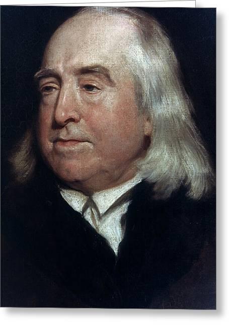 Jeremy Bentham (1748-1832) Greeting Card by Granger