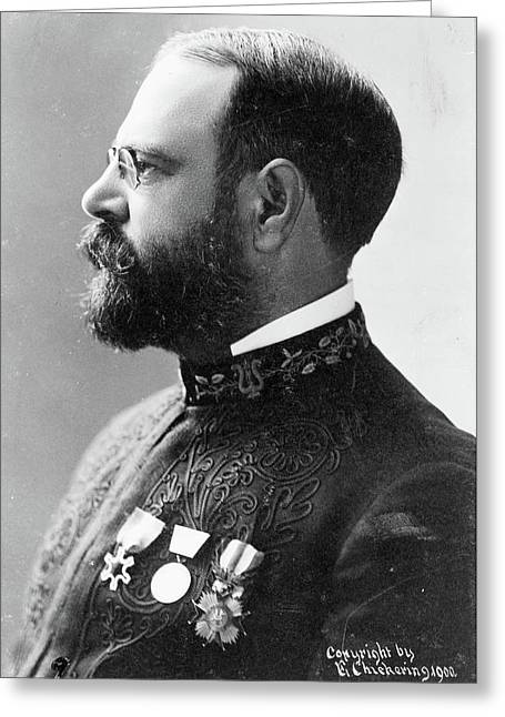 John Philip Sousa (1854-1932) Greeting Card