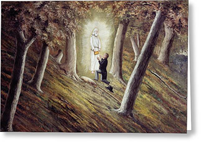 Joseph Smith (1805-1844) Greeting Card by Granger