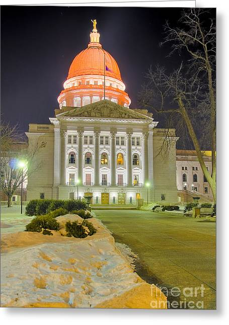 Madison Capitol Greeting Card