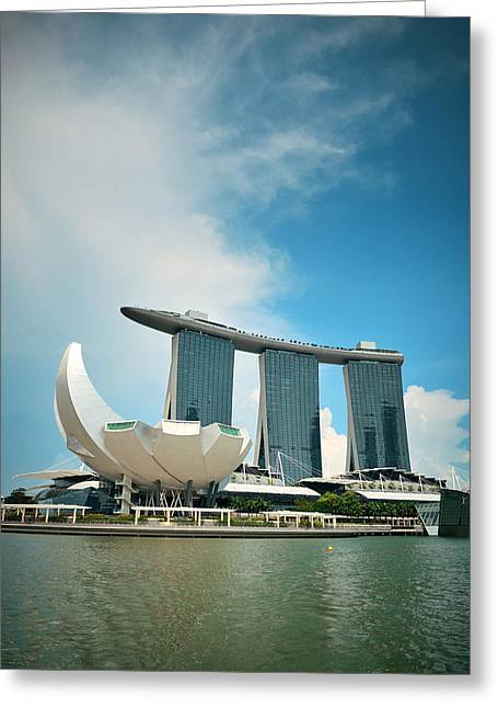 Marina Bay Sands Greeting Card