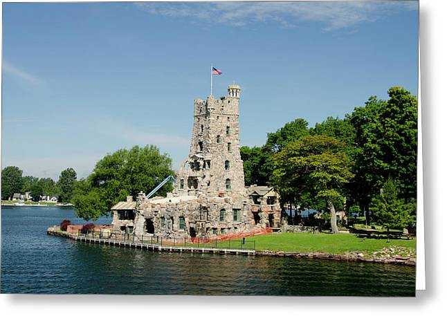 New York, St Lawrence Seaway, Thousand Greeting Card by Cindy Miller Hopkins