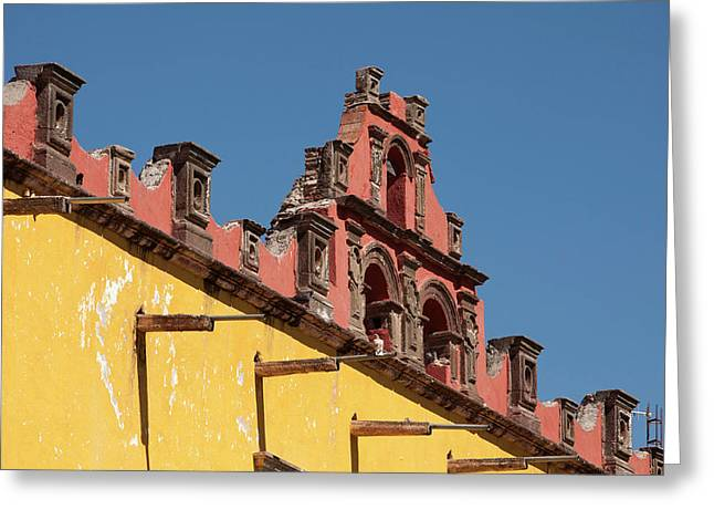 North America, Mexico, San Miguel De Greeting Card by John and Lisa Merrill