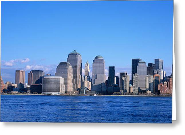 Nyc, New York City New York State, Usa Greeting Card