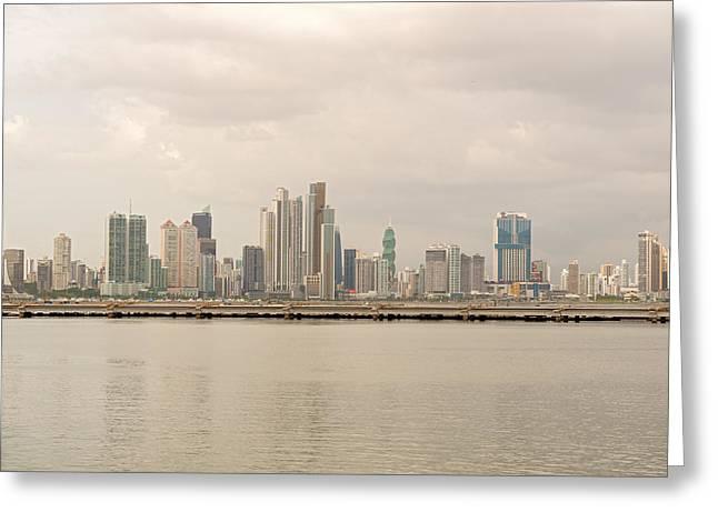 Panama City Greeting Card
