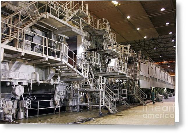 Paper Mill, France Greeting Card by Andrew Wheeler