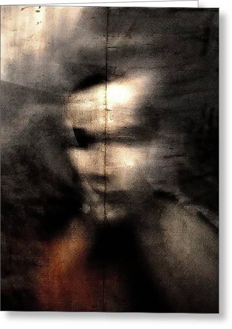 Shadows (portrait) Greeting Card