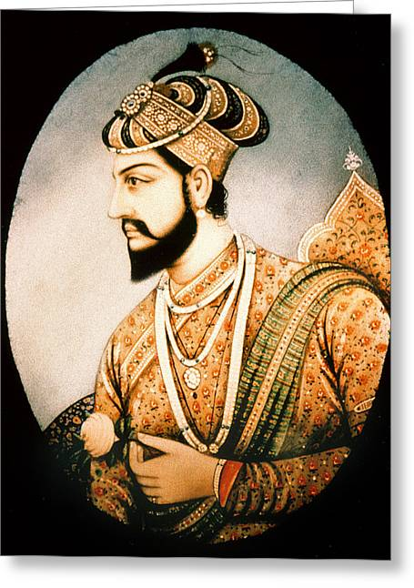 Shah Jahan (1592-1666) Greeting Card by Granger