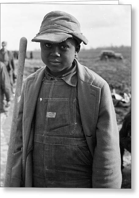 Sharecropper, 1939 Greeting Card by Granger
