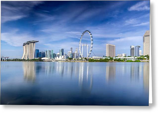 Singapore City Greeting Card
