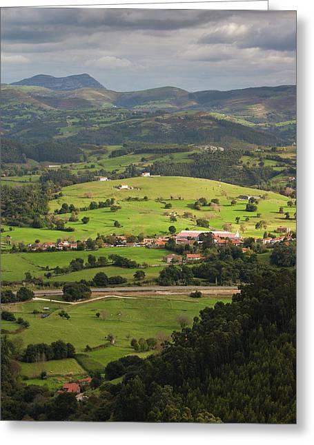 Spain, Cantabria Region, Cantabria Greeting Card