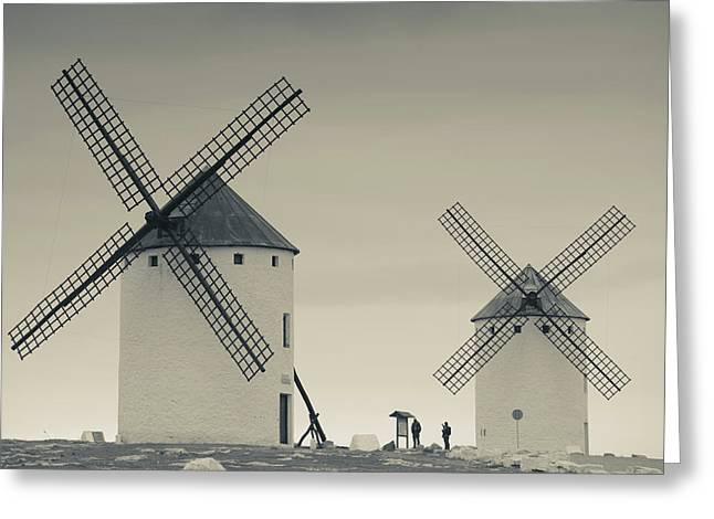 Spain, Castile-la Mancha Region, Ciudad Greeting Card
