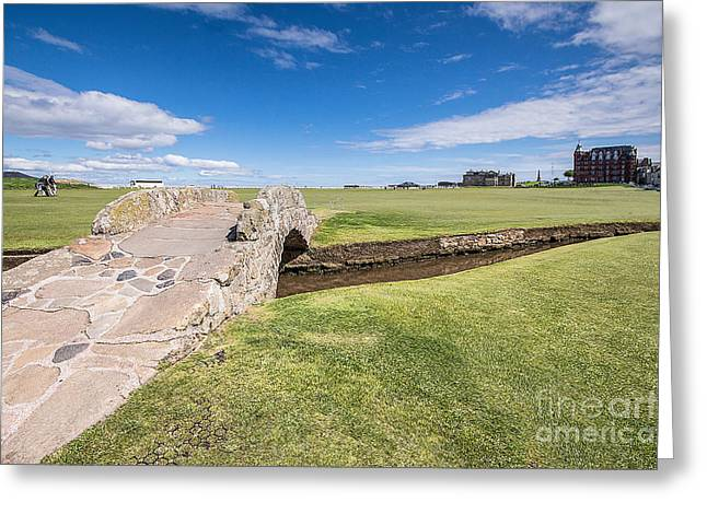St Andrews 18 Hole Greeting Card